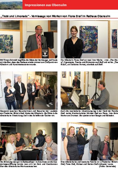 Vernissage Fiona Graf