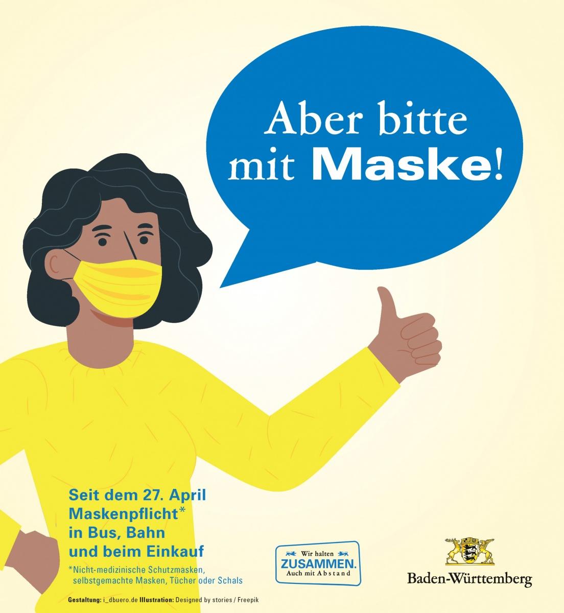 Bw Maskenpflicht